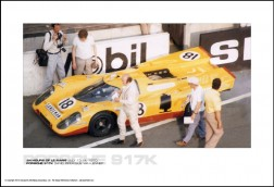 PORSCHE 917K DAVID PIPER/GIJS VAN LENNEP - 24 HOURS OF LE MANS JULY 13-14, 1970