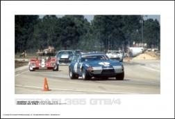 FERRARI 365 GTB/4 DAVID HOBBS/SKIP SCOTT - SEBRING 12 HOURS MARCH 25, 1972