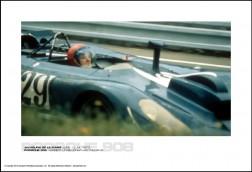 PORSCHE 908 HERBERT LINGE/JONATHAN WILLIAMS - 24 HOURS OF LE MANS JUNE 13-14, 1970