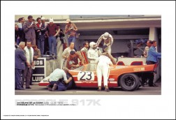 PORSCHE 917K RICHARD ATTWOOD/HANS HERRMANN - 24 HOURS OF LE MANS JUNE 13-14, 1970
