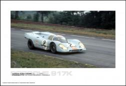 PORSCHE 917K LEO KINNUNEN/PEDRO RODRIGUZ - WATKINS GLEN 6 HOURS JULY 11, 1970