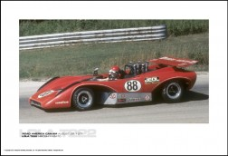 LOLA T222 HIROSHI KAZATO - ROAD AMERICA CAN-AM AUGUST 29, 1971