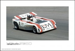 LOLA T260 JACKIE STEWART - ROAD ATLANTA CAN-AM JULY 11, 1971