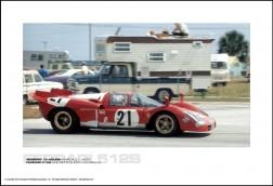 FERRARI 512S ANDRETTI/GIUNTI/VACCARELLA - SEBRING 12 HOURS MARCH 21, 1970