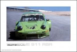 PORSCHE 911 RSR HURLEY HAYWOOD - IMSA LAGUNA SECA MAY 12, 1974