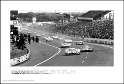 PORSCHE 917LH JACKIE OLIVER/PEDRO RODRIGUEZ - 24 HOURS OF LE MAN JUNE 12-13, 1971
