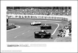 PORSCHE 917LH FERRARI 512M FERRARI 512M - 24 HOURS OF LE MANS JUNE 12-13, 1971