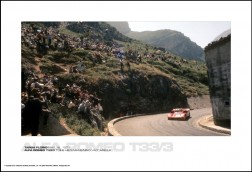 ALFA ROMEO T33/3 TOINE HEZEMANS/NINO VACCARELLA - TARGA FLORIO MAY 16, 1971
