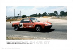 PORSCHE 914/6 GT HECTOR REBAQUE/GUILLERMO ROJAS - SEBRING 12 HOURS MARCH 25, 1972