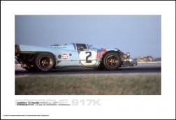 PORSCHE 917K JACKIE OLIVER/PEDRO RODRIGUEZ - SEBRING 12 HOURS MARCH 20, 1971