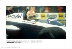 BRABHAM-BMW NELSON PIQUET - MONACO GRAND PRIX JUNE 3, 1984