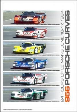 956 Porsche Curves