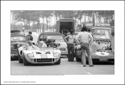 Behind Le Mans Posters