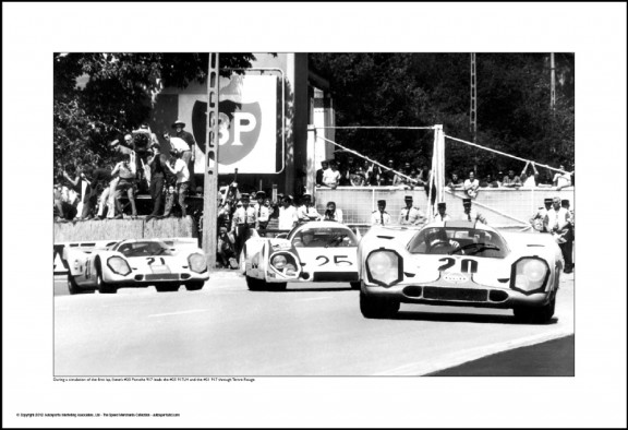 Behind Le Mans #22