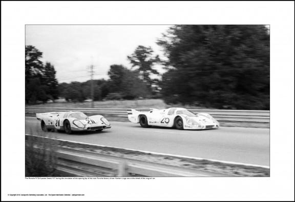 Behind Le Mans #23