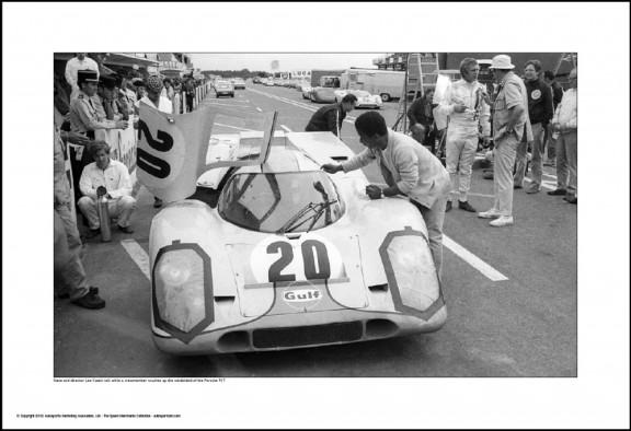 Behind Le Mans #34