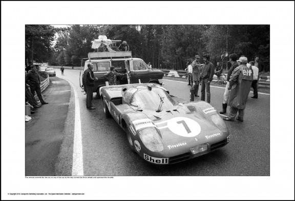 Behind Le Mans #53