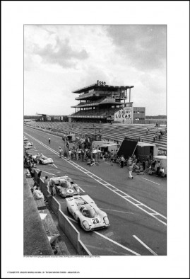 Behind Le Mans #61