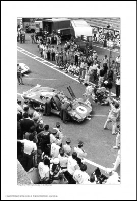 Behind Le Mans #71