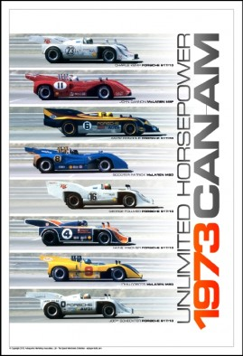 Can-Am 1973 – Unlimited Horsepower