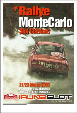 Daniel Munarriz – Rallye Monte Carlo