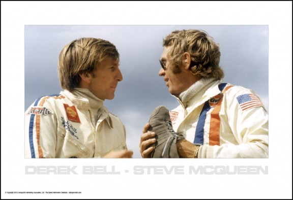 Derek Bell & Steve McQueen