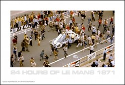 Le Mans Atmosphere Posters