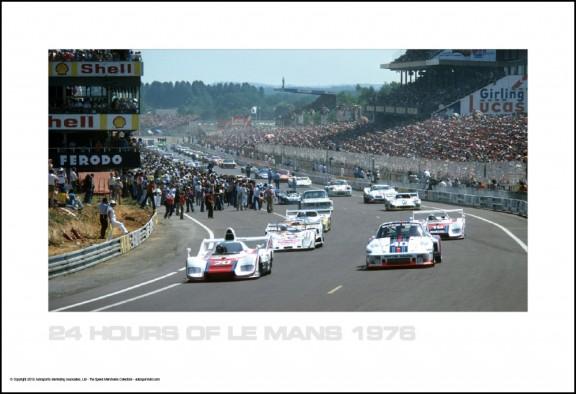 Le Mans 1976 – Pace Lap