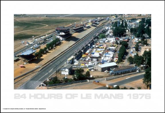Le Mans 1976 Aerial #2