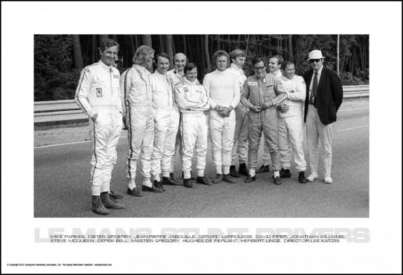 Le Mans Stunt Drivers