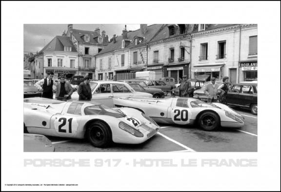 Porsche 917 – Hotel Le France