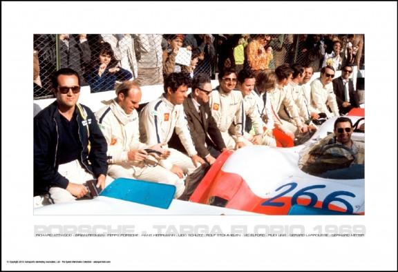 Porsche Targa 1969 – Drivers