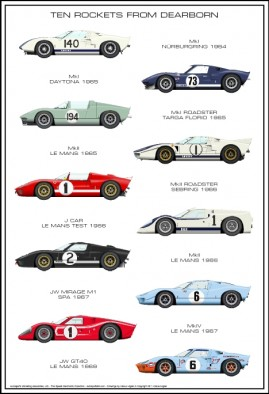 Rockets From Dearborn – Ford GT40