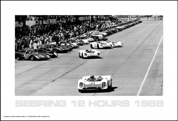 Sebring 12 Hours 1969 Start