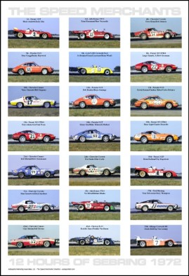 The Speed Merchants – 12 Hours of Sebring 1972