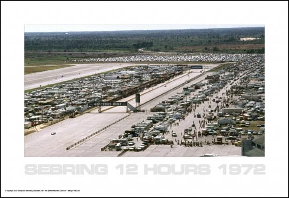 Sebring 1972 Aerial