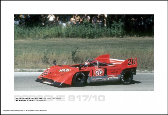 PORSCHE 917/10 JO SIFFERT – ROAD AMERICA CAN-AM AUGUST 29, 1971