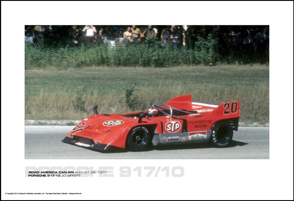 Porsche 917 10 Jo Siffert Road America Can Am August 29