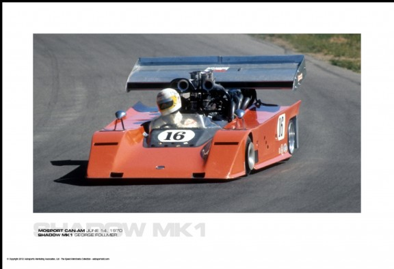 SHADOW MK1 GEORGE FOLLMER – MOSPORT CAN-AM JUNE 14, 1970