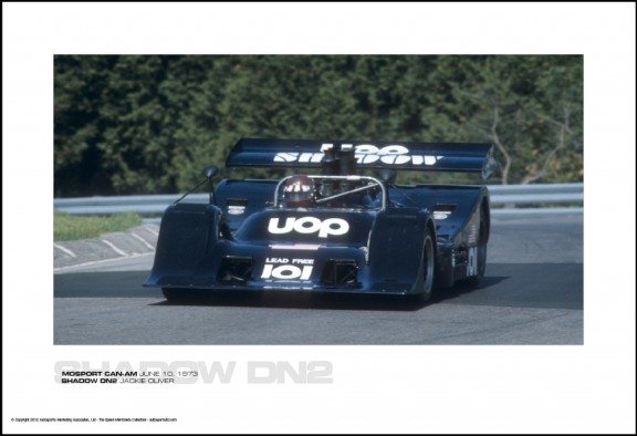 SHADOW DN2 JACKIE OLIVER – MOSPORT CAN-AM JUNE 10, 1973