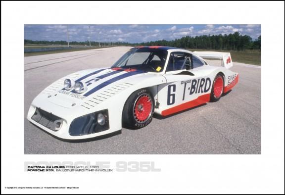 PORSCHE 935L BALLOT-LENA/FOYT/HENN/WOLLEK – DAYTONA 24 HOURS FEBRUARY 6, 1983