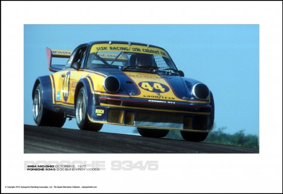 PORSCHE 934/5 DOC BUNDY/ROY WOODS – IMSA MID-OHIO OCTOBER 6, 1977