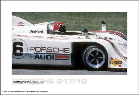 PORSCHE 917/10 GEORGE FOLLMER – MID-OHIO CAN-AM AUGUST 6, 1972