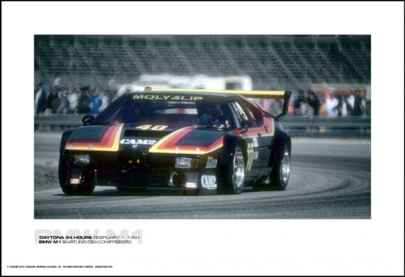 BMW M1 BARTLING/DEACON/FREBERG – DAYTONA 24 HOURS FEBRUARY 1, 1981