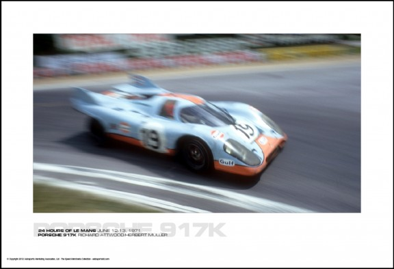 PORSCHE 917K RICHARD ATTWOOD/HERBERT M