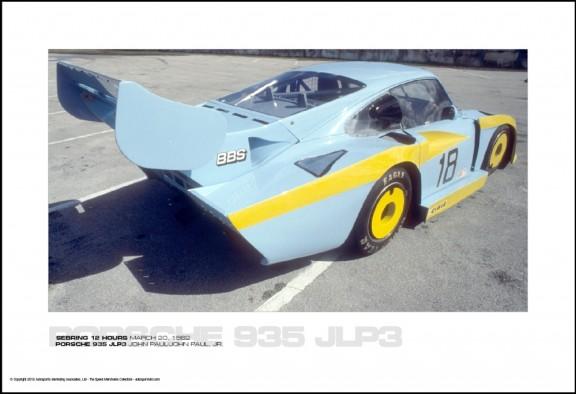PORSCHE 935 JLP3 JOHN PAUL/JOHN PAUL, JR