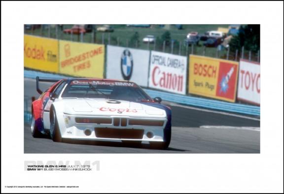 BMW M1 BUSBY/HOBBS/WINKELHOCK – WATKINS GLEN 6 HRS JULY 7, 1979