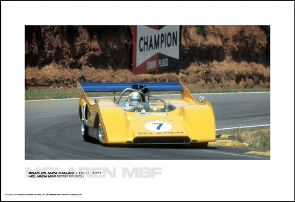 MCLAREN M8F PETER REVSON – ROAD ATLANTA CAN-AM JUNE 11, 1971