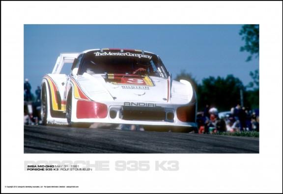PORSCHE 935 K3  ROLF STOMMELEN – IMSA MID-OHIO MAY 31, 1981