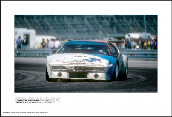 BMW M1 BRUN/GEBHARDT/STUCK – DAYTONA 24 HOURS FEBRUARY 1, 1981